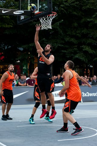 #5 Juan Vasco Trabado. Team Malaga. 2014 World Tour Prague. 3x3 Game. 23 August. Day 1.