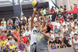 #6 Chen Chun-Hsuan, Team New Taipei, 2014 World Tour Beijing, 3x3game, 2-3 August.