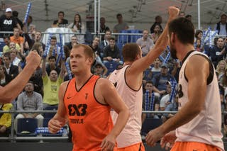 #7 Ovnik Gasper, Team Trbovlje, FIBA 3x3 World Tour Lausanne 2014, day 1, 29. August.