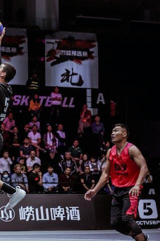3 Michael Linklater (CAN) - 5 Hassan Stephens (JPN) - 4 Yusuke Kodera (JPN)