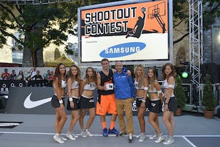 Samsung shootout contest  Winner 2013 FIBA 3x3 World Tour Masters in Lausanne