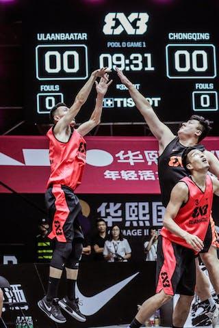 6 Xibao Zhang (CHN) - 3 Liu Hang (CHN) - 5 Tsenguunbayar Gotov (MGL)