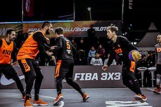4 Lazar Rasic (SRB) - 3 Bogdan Dragovic (SRB) - 5 Marko Dugosija (SRB) - 4 Simon Finzgar (SLO) - 5 Anže Srebovt (SLO)