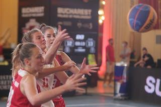 10 Magdalena Maria Parysek-bochniak (POL) - 13 Klaudia Sosnowska (POL) - 11 Camilla Neumann (AUT)
