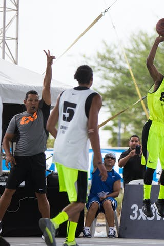 NY Staten vs Denver at the San Juan Masters 10-11 August 2013 FIBA 3x3 World Tour, San Juan, Puerto Rico. Day 2