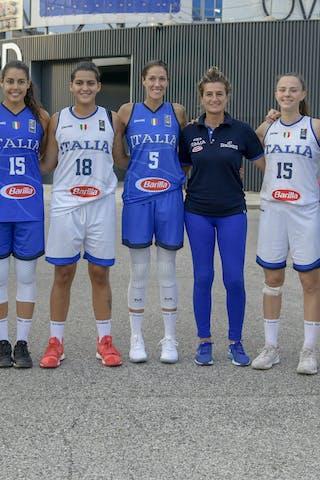 15 Arianna Zampieri (ITA) - 8 Giulia Rulli (ITA) - 5 Marcella Filippi (ITA) - 2 Raelin D'alie (ITA)
