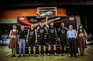 6 łukasz Muszyński (POL) - 5 Pawel Pawlowski (POL) - 4 Michael Hicks (POL) - 3 Piotr Renkiel (POL) - Novi Sad AlWahda v Gdansk, 2016 WT Beijing, Final, 17 September 2016