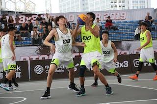 6 Yuan Bo Zhu (CHN) - 6 Haofeng Rong (CHN)