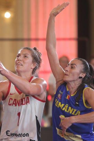 1 Michelle Plouffe (CAN) - 6 Bianca Fota (ROU)