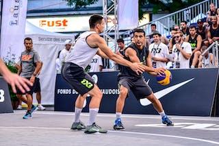 3 Yunus Yurttagul (TUR) - 3 Stefan Stojačić (SRB) - Liman v Manisa, 2016 WT Lausanne, Pool, 26 August 2016