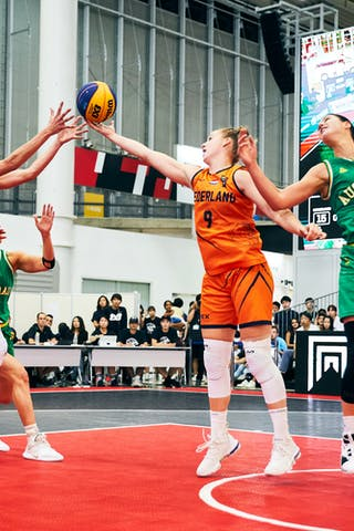 9 Esther Fokke (NED) - 11 Jill Bettonvil (NED) - Game5_Final_Netherlands vs Australia