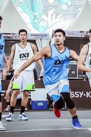 7 Cameron D Forte (CHN) - 5 Xiaoheng Liu (CHN) - 7 Chunnan Yuan (CHN) - 4 Jinting Liu (CHN)
