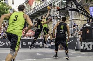 5 Duje škaro (CRO) - 3 Toni Mindoljevic (CRO) - 6 Lorenzo Ambrosin (ITA) - 4 Alessandro Vecchiato (ITA)