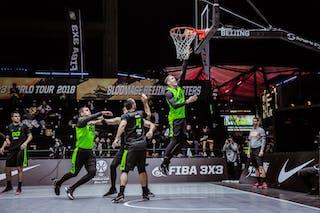 6 Nikola Vukovic (SRB) - 3 Bogdan Dragovic (SRB) - 4 Kārlis Lasmanis (LAT) - 5 Agnis čavars (LAT) - 3 Nauris Miezis (LAT)