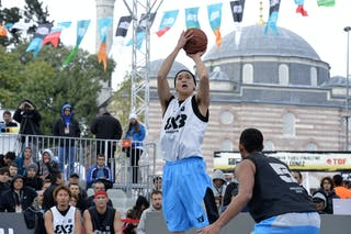 #4 Nagoya (Japan)  2013 FIBA 3x3 World Tour final in Istanbul