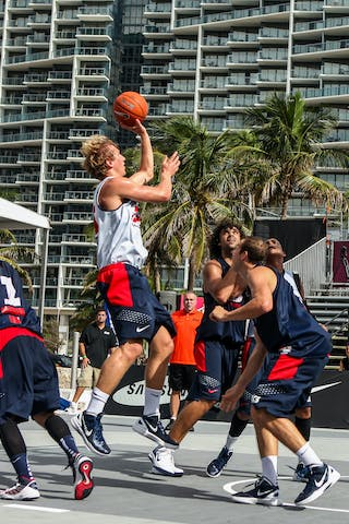 Final day of the 2012 FIBA 3x3 World Tour Final in Miami