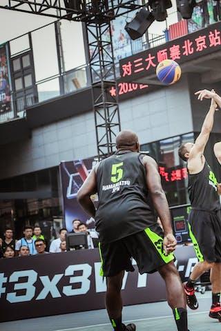 6 Bikramjit Gill (JPN) - 5 Chris Brown (JPN) - 6 Karl Noyer (NZL) - Auckland v Hamamatsu, 2016 WT Beijing, Pool, 16 September 2016