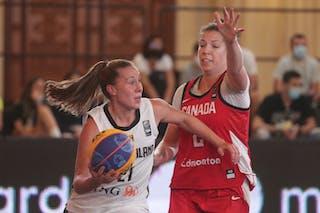 21 Svenja Brunckhorst (GER) - 2 Katherine Plouffe (CAN)