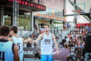 Ljubljana v Beijing, 2015 WT Beijing, Last 8, 16 August 2015