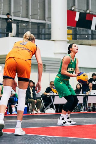 3 Loyce Bettonvil (NED) - 8 Alice Kunek (AUS) - Game5_Final_Netherlands vs Australia