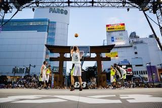 5 Luka Snoj (JPN) - Okayama v Taichung, 2016 WT Utsunomiya, Pool, 30 July 2016