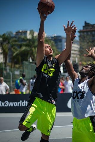 #3 Caracas (Venezuela) SP Sul (Brazil) 2013 FIBA 3x3 World Tour Rio de Janeiro