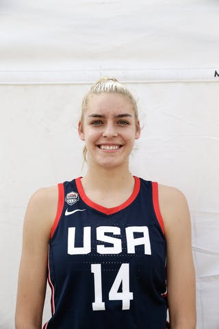 14 Bella Alarie (USA)