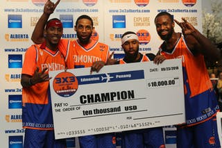 NY Harlem 3Ball USA defeated Ralja Intergalactic in the final.