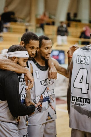 3 Antoinne Morgano (USA) - 2 Dominique Jones (USA) - 4 Marcel Esonwune (USA) - 1 David Seagers (USA)