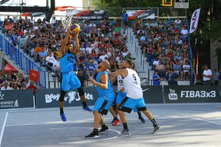 5 Angel Matias (PUR) - 5 Ondřej Dygrýn (CZE) - 3 Ondřej šiška (CZE) - 3 Jorge Matos (PUR) - Humpolec vs Gurabo FIBA 3x3 Saskatoon 2017 (Can)