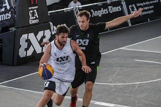 7 Adin Kavgic (SLO) - 5 Leonardo Branquinho (BRA)