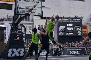 2 Kareem Maddox (USA) - 5 Jesper Jobse (NED) - 4 Robbie Hummel (USA)