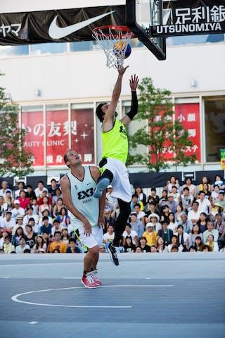 3 Kenji Hilke (JPN) - Piran v Okayama, 2016 WT Utsunomiya, Pool, 30 July 2016