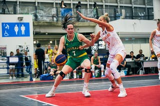 7 Keely Froling (AUS) - 11 Jill Bettonvil (NED) - Game3_Pool B_Netherlands vs Australia