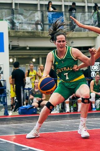 7 Keely Froling (AUS) - 11 Jill Bettonvil (NED) - Game3_Pool B_Netherlands vs Australia