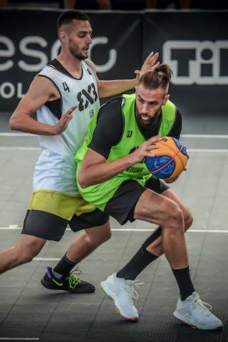 4 Marko Brankovic (SRB) - 5 Kevin Corre (KSA)