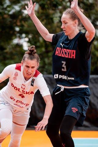 4 Anna Pawłowska (POL) - 3 Mariia Cherepanova (RUS)