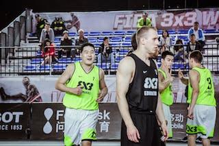 6 Kyle Landry (CAN) - 7 Wang Xuefeng (CHN)