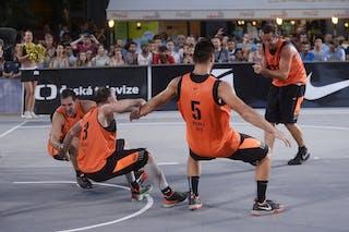 3 Boris Jersin (SLO) - 4 Jaka Hladnik (SLO) - 5 Mensud Julević (SLO) - 6 Jure EržEn (SLO) - Kranj v Kolobrzeg, 2015 WT Prague, Final, 9 August 2015