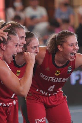21 Svenja Brunckhorst (GER) - 14 Sonja Greinacher (GER) - 7 Jennifer Crowder (GER) - 4 Luana Rodefeld (GER)