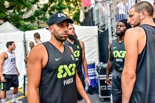 6 Maxime Courby (FRA) - 5 Dominique Gentil (FRA) - 4 Charles Bronchard (FRA) - 3 Anthony Christophe (FRA) - Lausanne v Paris, 2016 WT Lausanne, Last 8, 27 August 2016