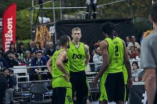 1 Damon Huffman (USA) - 2 Kareem Maddox (USA) - 4 Robbie Hummel (USA)