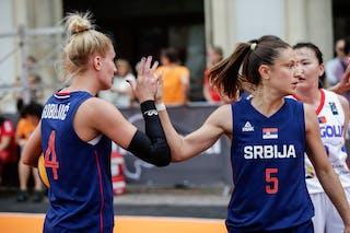 5 Mirjana Beronja (SRB) - 4 Dragana Gobeljic (SRB)