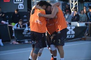4 Delgernyam Davaasambuu (MGL) - 3 Tserenbaatar Enkhtaivan (MGL) - 2 Tsenguunbayar Gotov (MGL) - 1 Dulguun Enkhbat (MGL) - FIBA 3x3 juej challenger