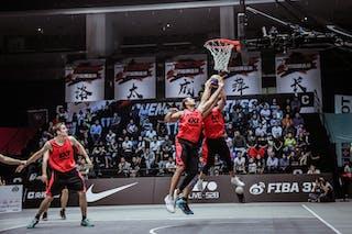 3 Zhang Jingli (CHN) - 7 Michael Lieffers (CAN) - 6 Nolan Brudehl (CAN) - 4 Steve Sir (CAN) - 3 Michael Linklater (CAN)