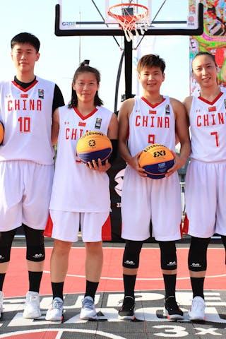 10 Zhiting Zhang (CHN) - 9 Jiayin Jiang (CHN) - 7 Di Wu (CHN) - 5 Yingyun Li (CHN)