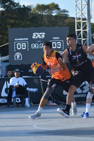 4 Adin Kavgic (SLO) - 2 Tsenguunbayar Gotov (MGL) - 1 Dulguun Enkhbat (MGL) - 3 Milan Kovačević (SLO) - FIBA 3x3 juej challenger