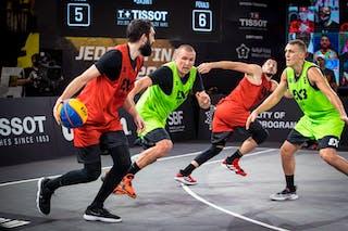 5 Aleksandar Ratkov (SRB) - 6 Stefan Kojic (SRB) - 2 Nauris Miezis (LAT) - 6 Edgars Krumins (LAT)