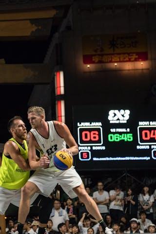 7 Blaz Cresnar (SLO) - Ljubljana v Novi Sad Al Wahda, 2016 WT Utsunomiya, Semi final, 31 July 2016