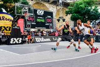 6 Maxime Courby (FRA) - 6 Oliver Vogt (SUI) - 4 Charles Bronchard (FRA) - 4 Derrick Lang (SUI) - Lausanne v Paris, 2016 WT Lausanne, Last 8, 27 August 2016
